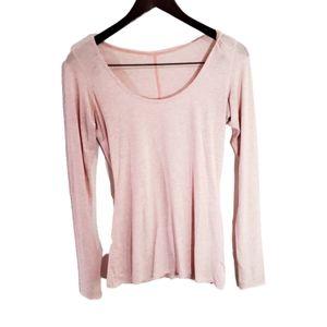 Lululemon pink long sleeve size 4